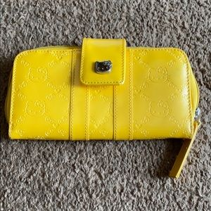 LoungeFly Hello Kitty Yellow Wallet